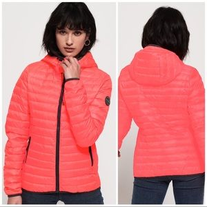 Superdry • Core Down Hooded Puffer